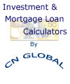 Investment and Mortgage Loan <b>Calculator</b>