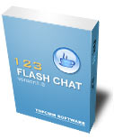 123 Flash Chat Server (100 users)