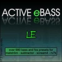ACTIVE eBASS LE - Unique Synth Refill