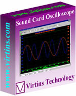 Virtins <b>Sound Card</b> Oscilloscope